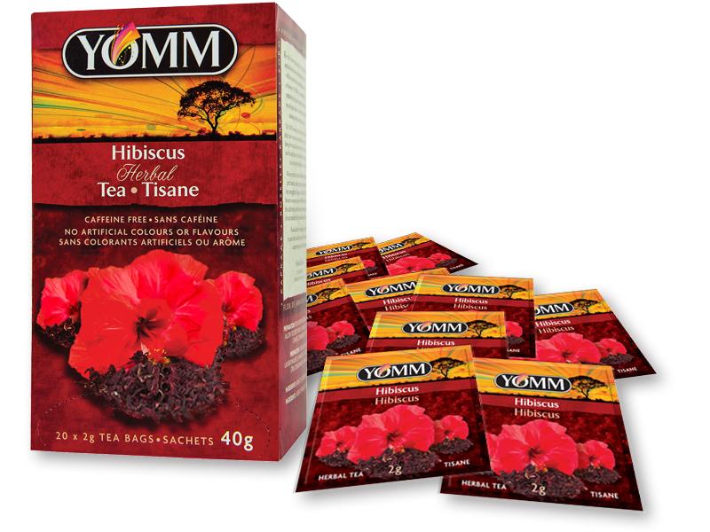 Yomm Hibiscus Tea